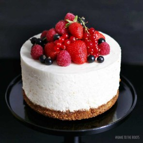 Orange Blossom Rice Pudding Cake with Fresh Berries | Bake to the ...