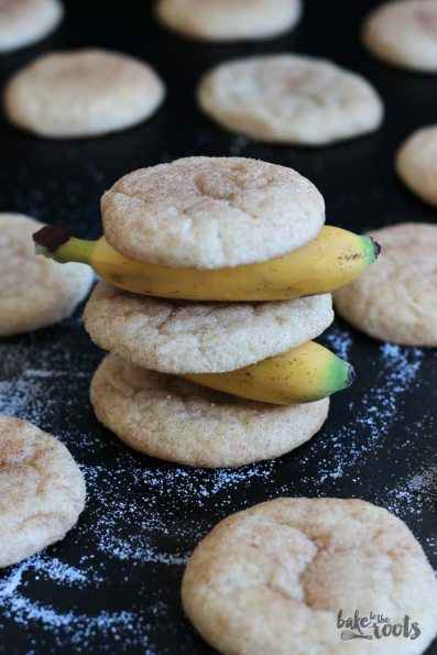 Banana Snickerdoodles   Bake to the roots