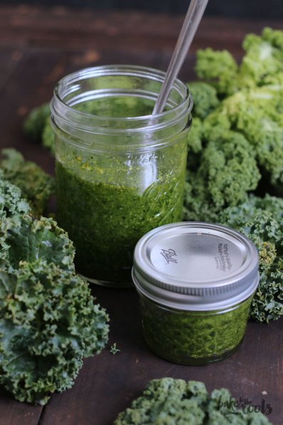 Kale Pesto | Bake to the roots