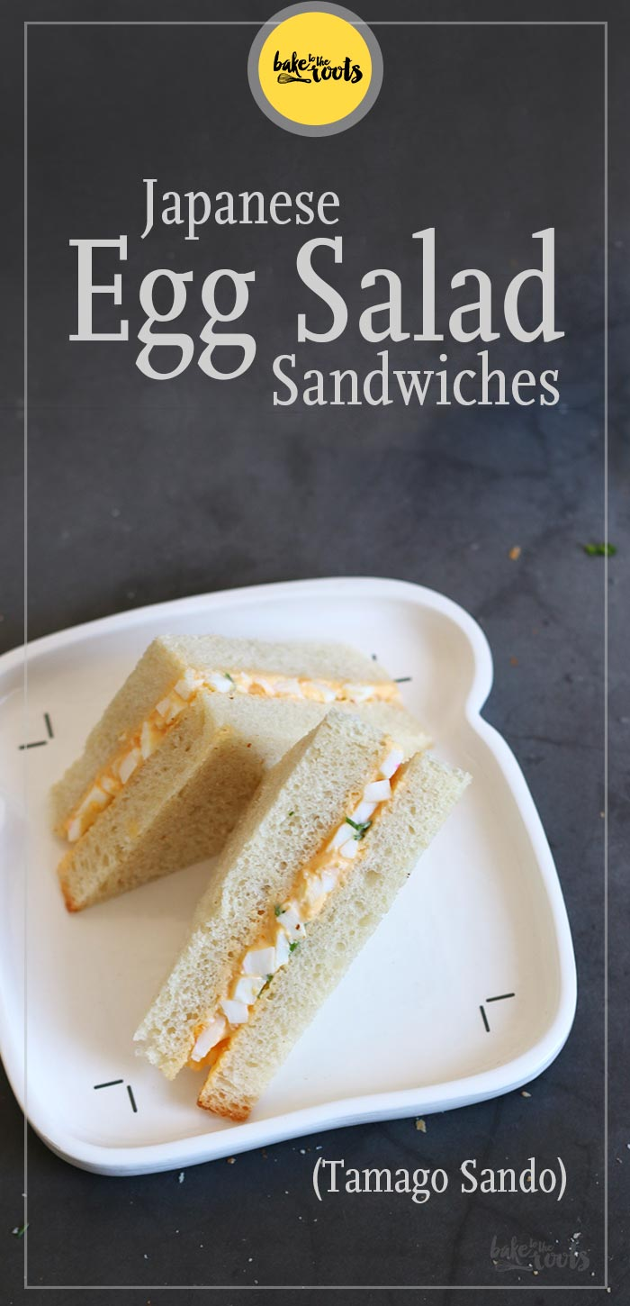 Japanese Egg Salad Sandwiches Tamago Sando Bake To The Roots