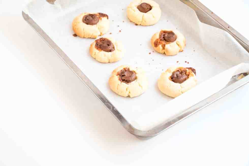Chewy Rolo Sugar Cookies - Baking-Ginger