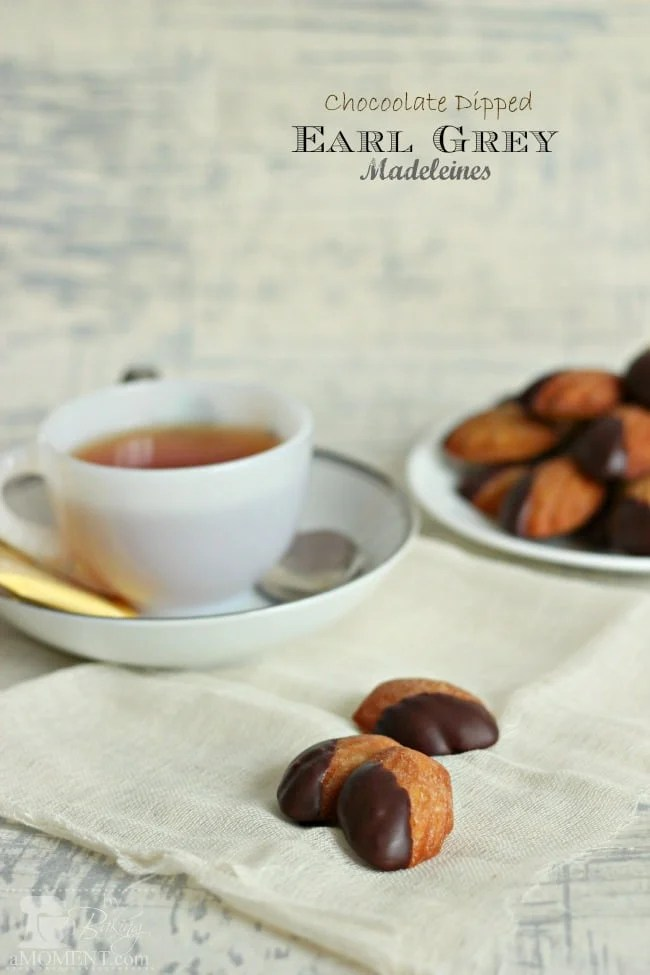 Have you ever had Madeleines ? Oooooh, I just love them. So classic ...