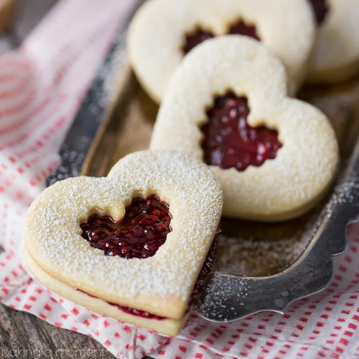 Raspberry Linzer Cookies- these are such a classic! The flavor was spot on with this recipe: buttery, tender cookie + fresh, bright raspberry flavor. Definitely making again!