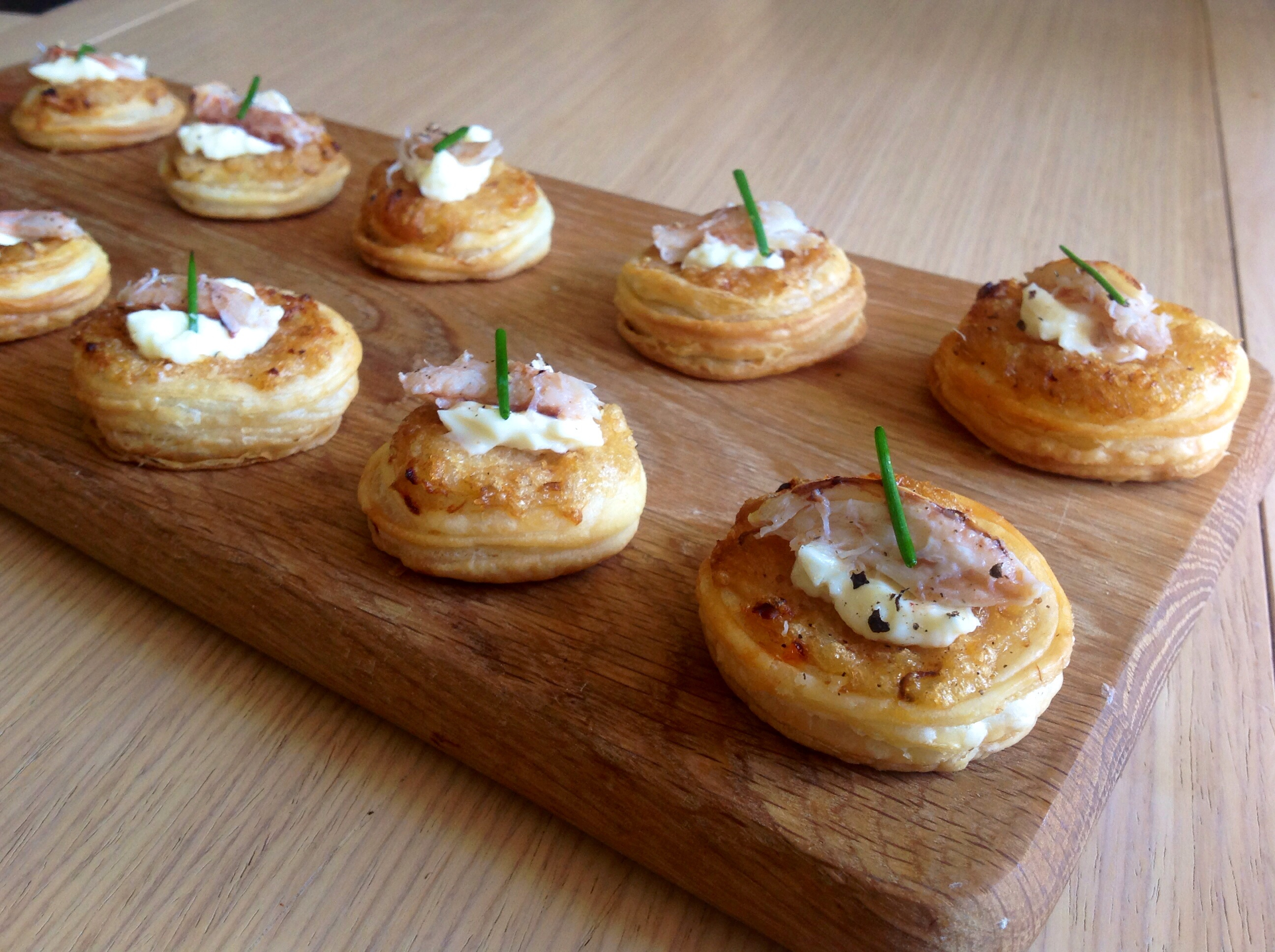 Canape A Crab Canapés Phil 39s Home Kitchen