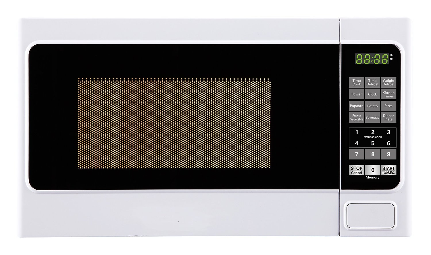 Oster 0.7 Cu Ft Countertop Microwave Impecca Cm07n2w 700w Power Countertop Microwave Oven