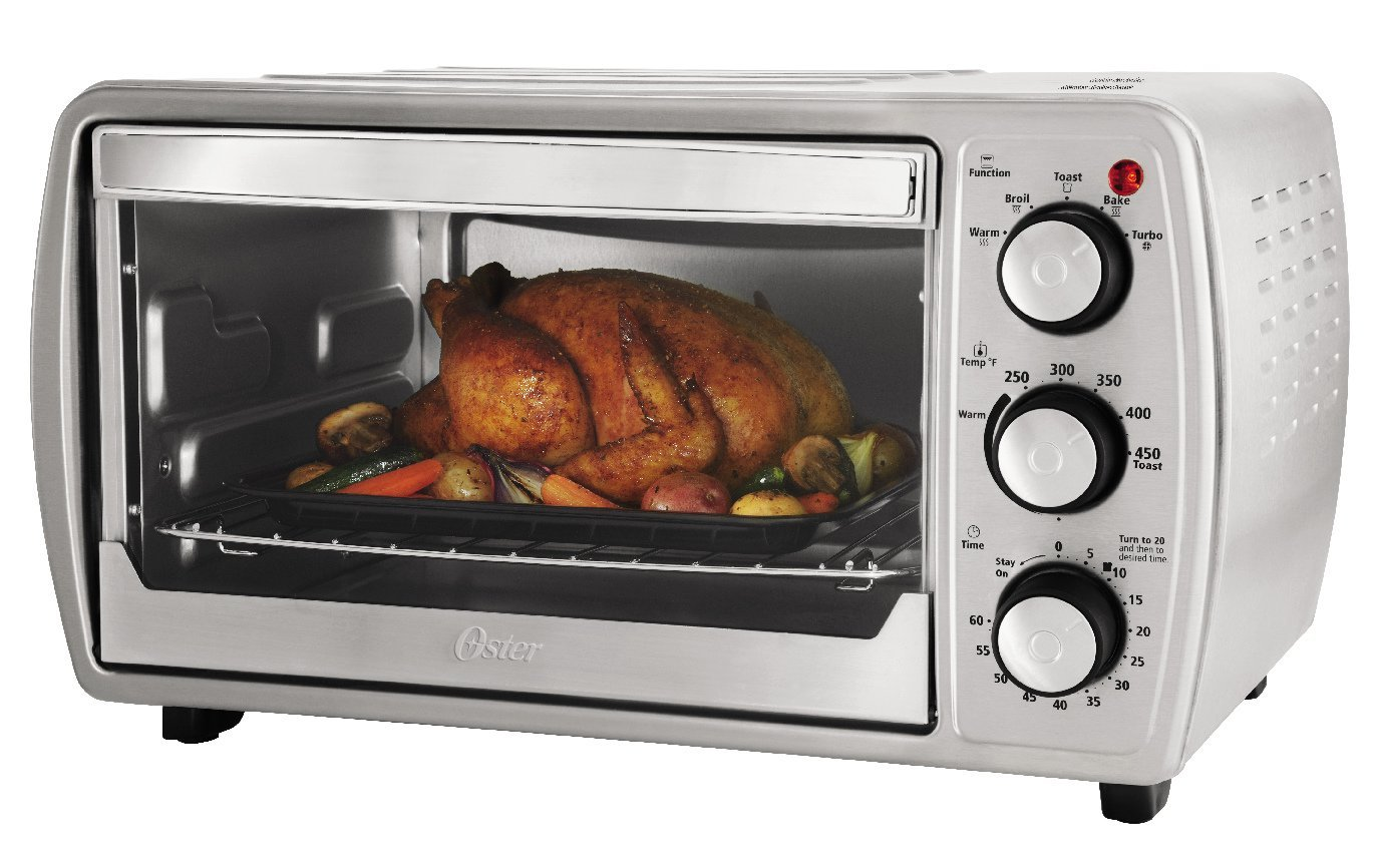 Oster Convection Countertop Oven Reviews Oster Tssttvcg02 Oster 6 Slice Convection Toaster Oven With