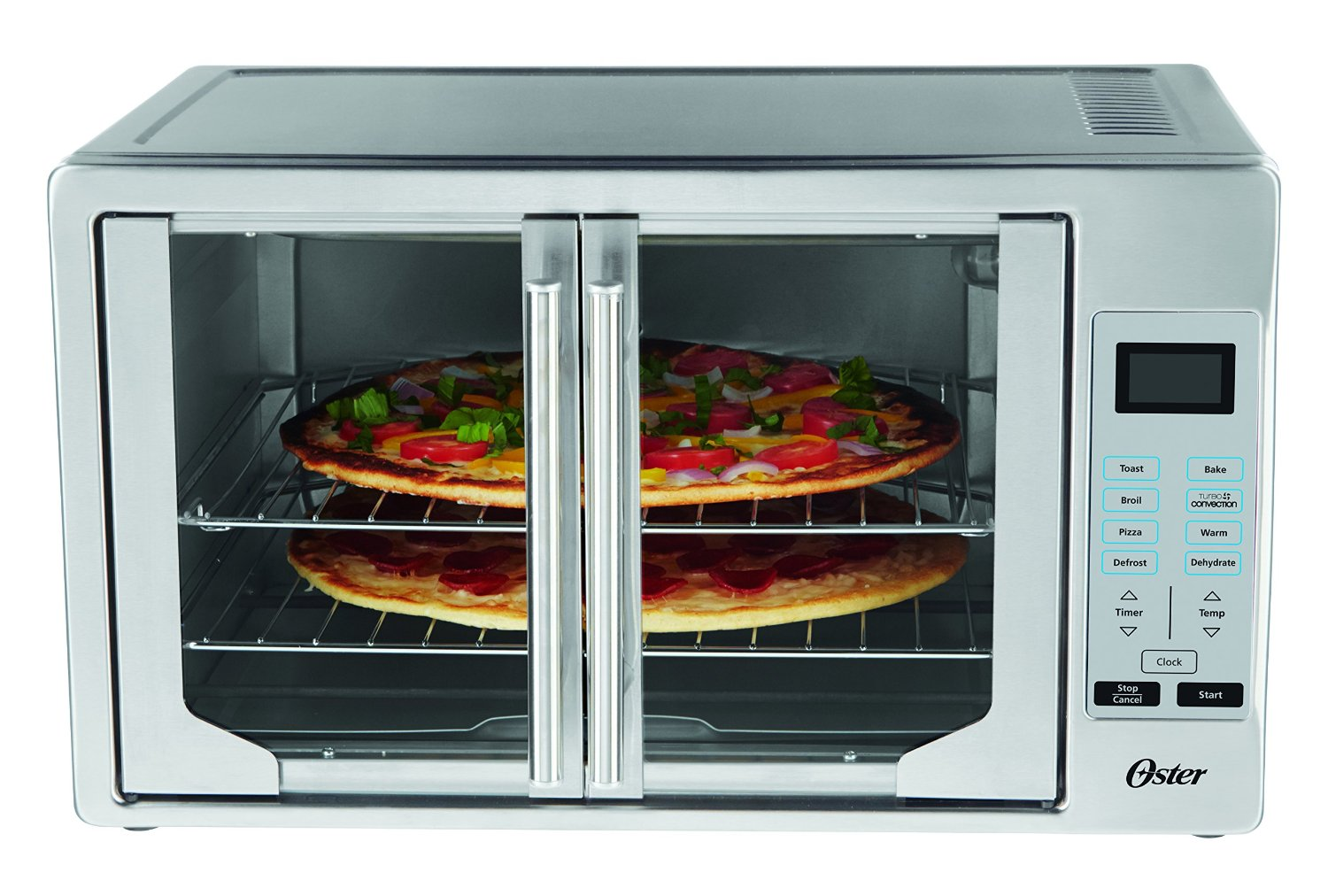 Oster Convection Countertop Oven Reviews Oster Tssttvfdxl French Door Oven With Convection