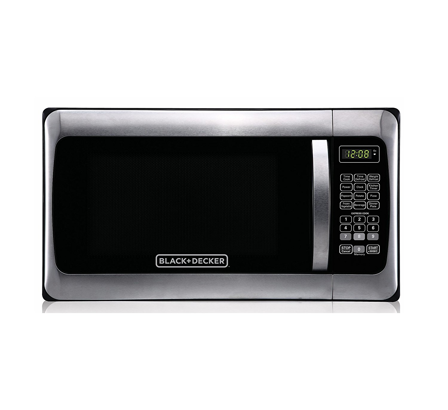 Big W Microwaves Black And Decker 1 1 Cu Ft 1 000w Microwave Stainless Steel