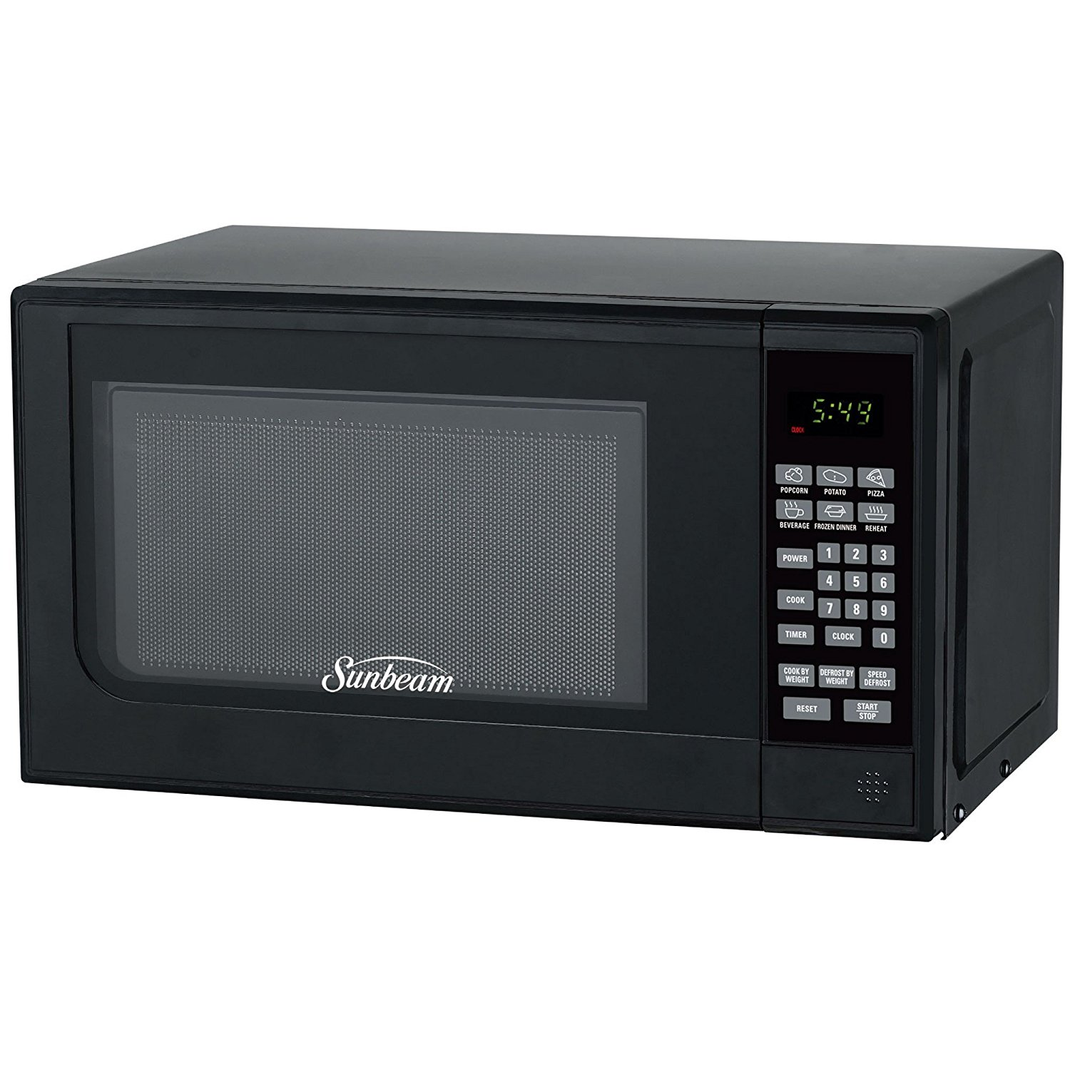 Oster 0.7 Cu Ft Countertop Microwave Sunbeam Sgc7702 7 Cu Ft 700 Watts Compact Digital