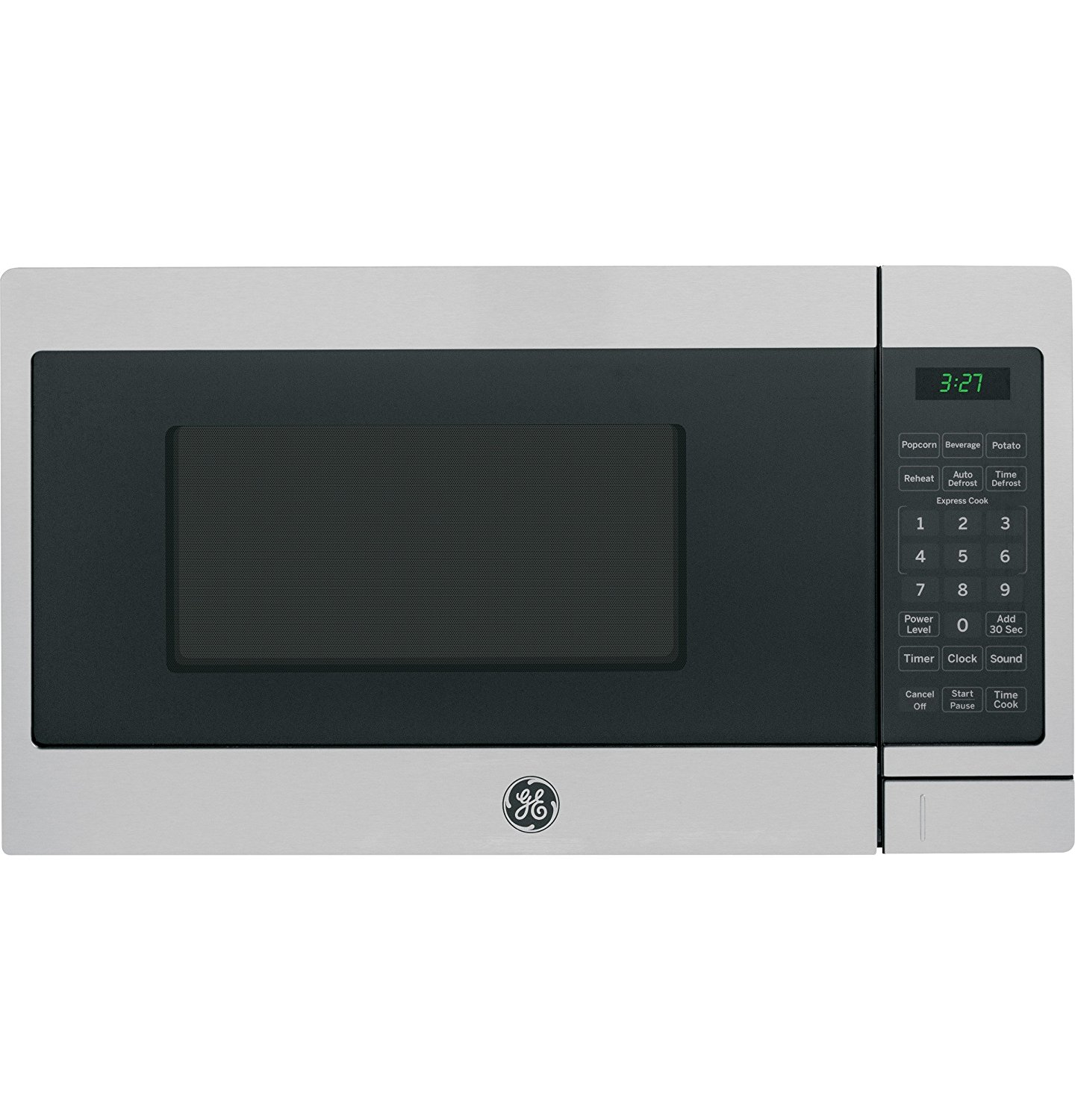 Oster 0.7 Cu Ft Countertop Microwave Ge Jem3072shss 7 Cu Ft Capacity 700 Watt Countertop