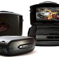 Gaems G155 Sistema De Entretenimiento Portátil: Maletín Con Pantalla