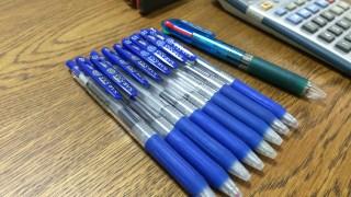 これで税理士試験を乗り切りました!税法試験に打ち勝つボールペン