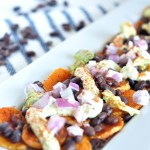 Vegan Sweet Potato Nachos: Healthy Recipe Swaps