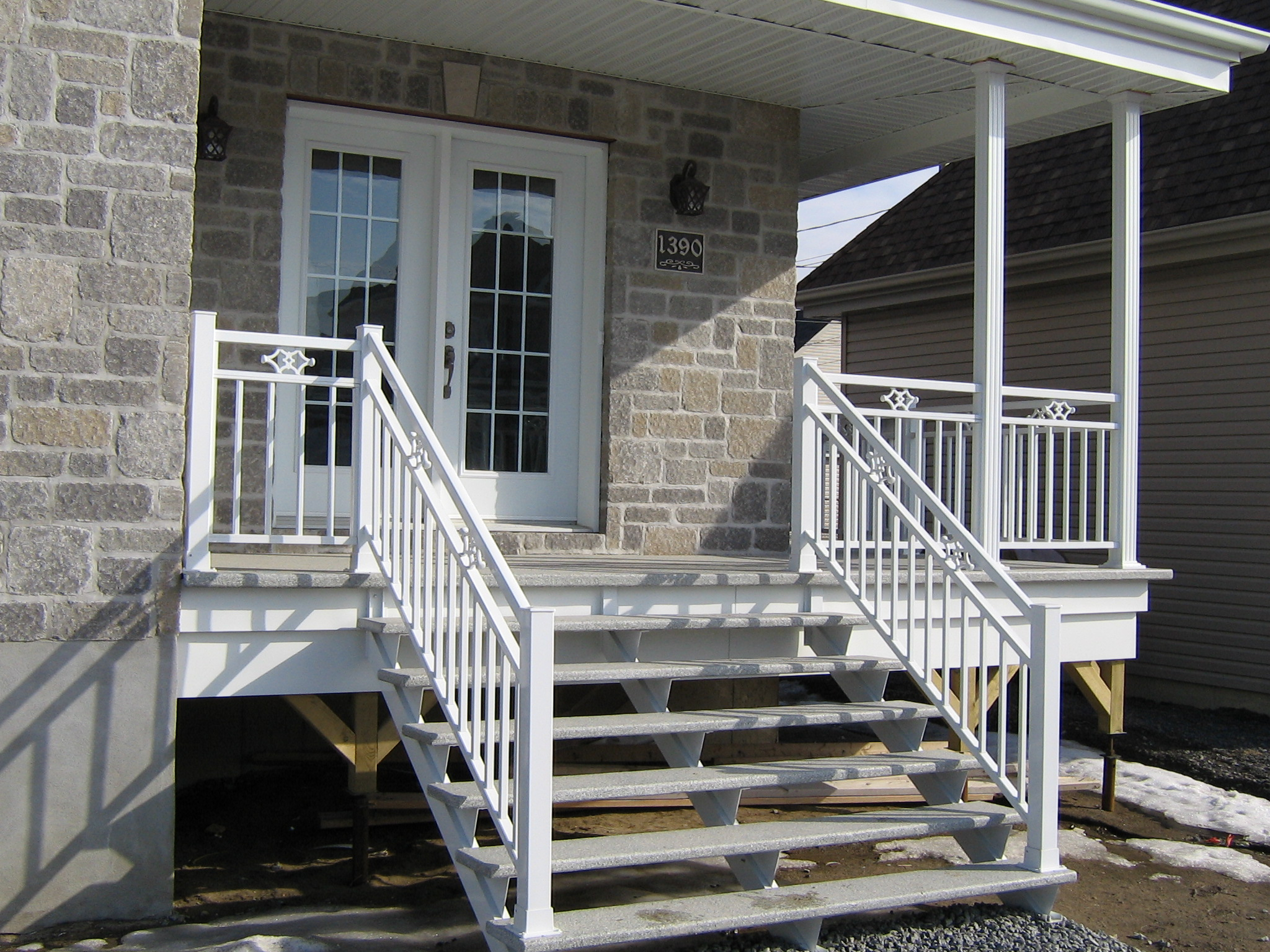 Rampe Escalier Exterieur Aluminium Marches And Escaliers Balconplus