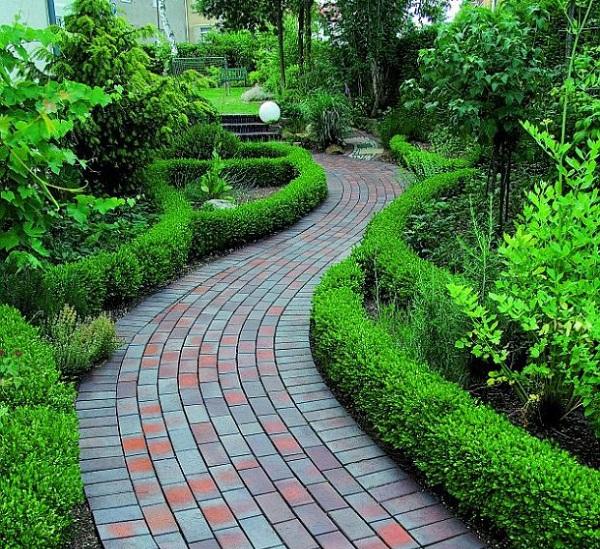 Brick Pathway Ideas for Garden Design - designing your garden
