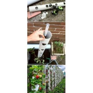 Pleasing Growing Strawberries A Little To No Upright Garden Planters When You Lack An Appropriate Garden Space Or A Vertical Gardeningidea Like This Can Unbeatable Diy Ideas
