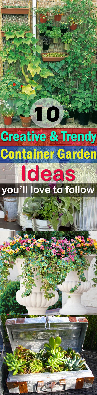 Marvelous Container Garden Ideas Love To Follow New Fairy Garden Se Container Gardening Make Your Container Garden By Applying A Few garden New Creative Fairy Garden