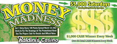 Money Madness – Baldini's Sports Casino