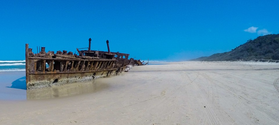 The Wreck of the SS Maheno