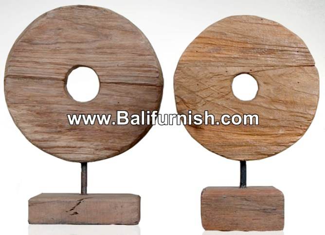 Teak Wood Table Top Decorations