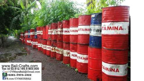 Recycled oil drum furniture supplier