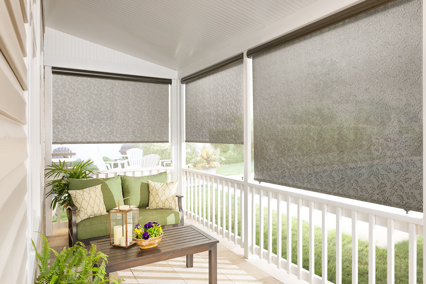Outdoor Sun Blinds Custom Exterior Solar Shades Bali Blinds And Shades