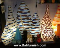 Fibreglass Lampshades from Indonesia