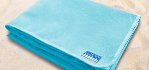 Quicksand mat, la serviette de plage anti-sable ! (1)