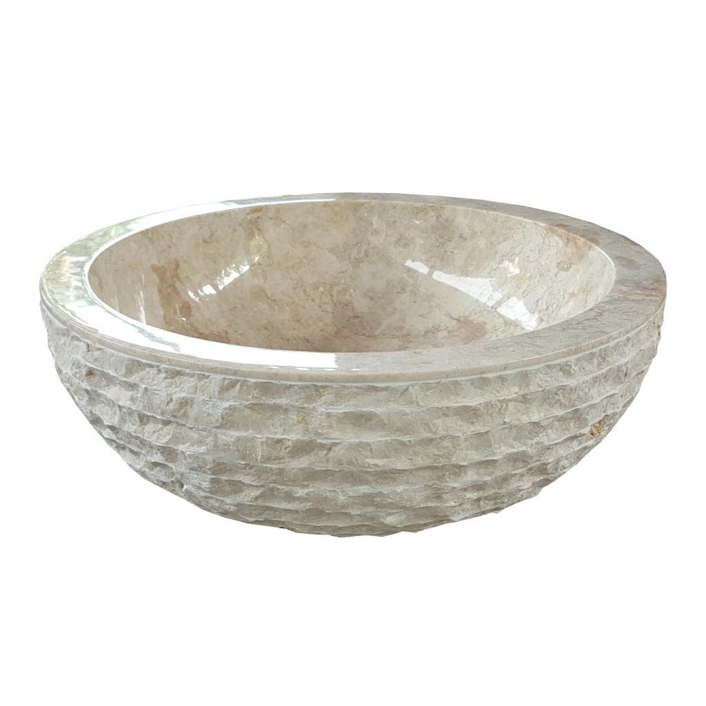 Marble Basin Marble Wash Basin Indonesia Supplier Stone Home Decor For Wholesale