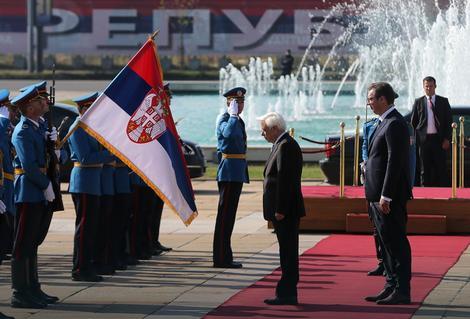 Predsednik Grčke Pavlopulos pred poslanicima Skupštine Srbije