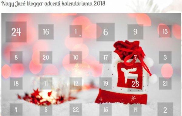 Balkonada adventi naptár 2018 Balkonada