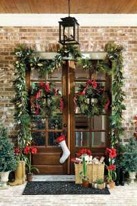 How to Choose the Right Size Wreath - How To Decorate