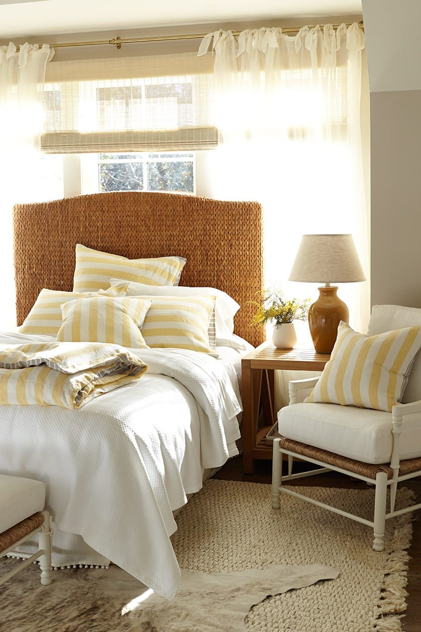 Dressing A Bed Update Your Bedding For Summer How To Decorate