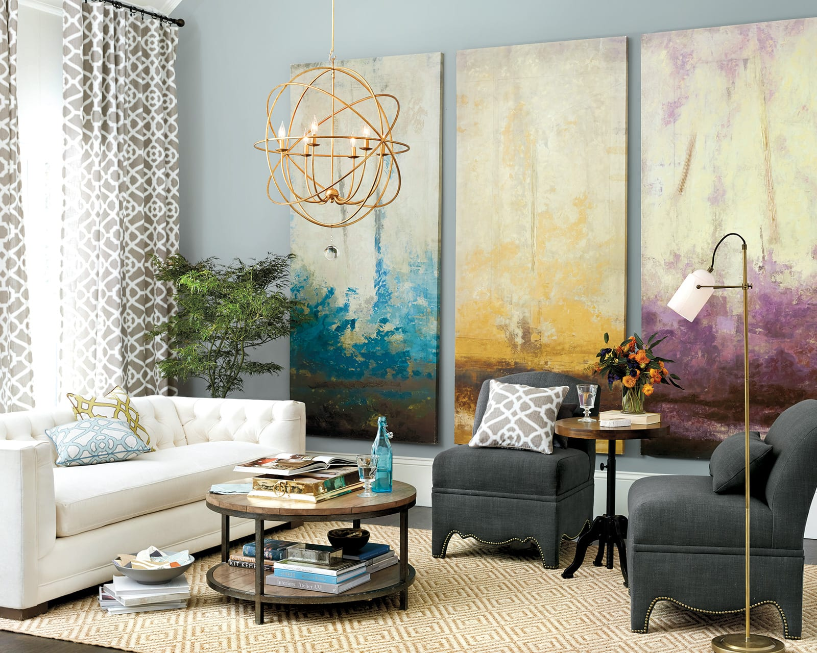 How To Decorate A Large Blank Wall 10 Ways To Fill A Blank Wall How To Decorate
