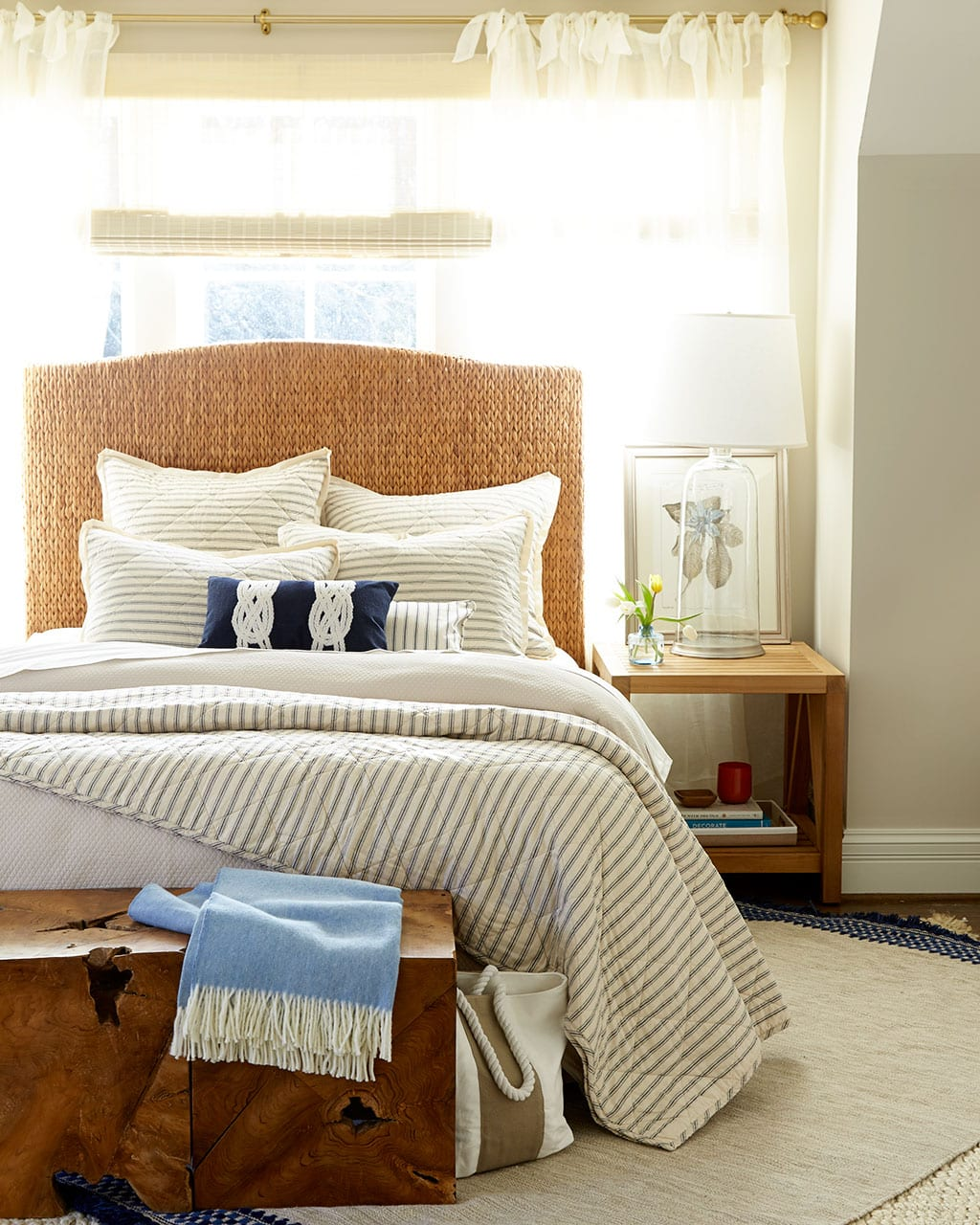 Headboards In Front Of Windows 10 Ways To Place Your Bed In Front Of A Window How To Decorate