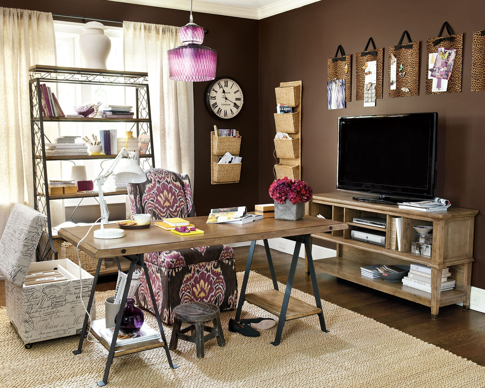 Decorate Wall Around Tv 8 Ways To Hide Your Tv In Plain Sight How To Decorate