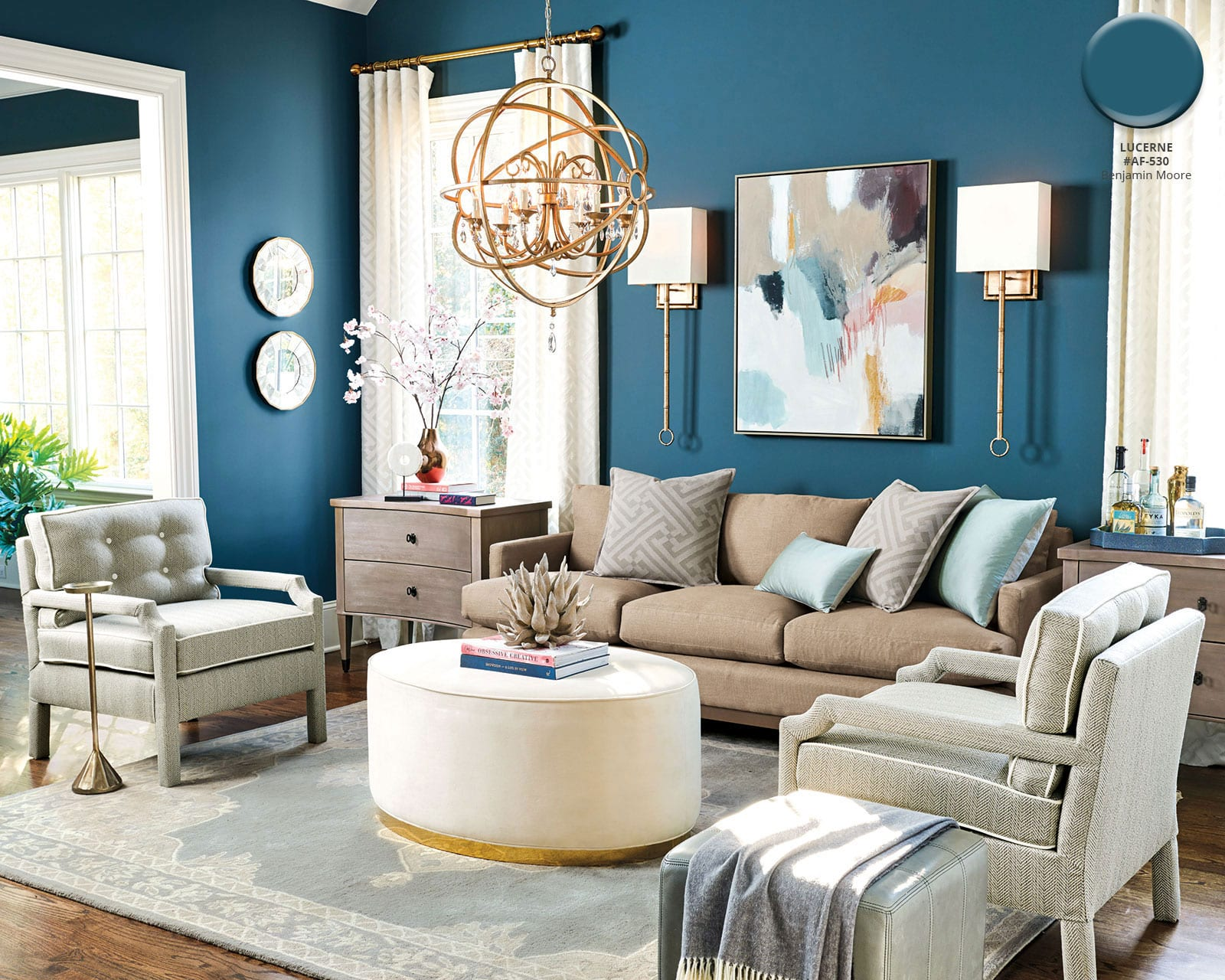 Paint Colors That Flow From Room To Room Ballard Designs Spring 2018 Paint Colors