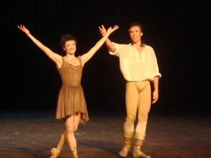 Nicolas Le Riche avec Clairemarie Osta dans Manon