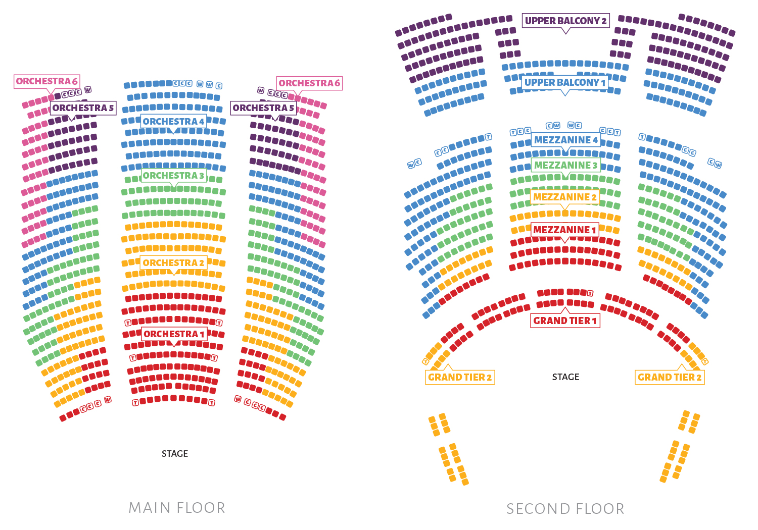 Capitol Theater Seating Chart Brokeasshomecom