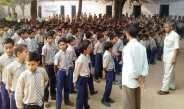 छात्रों को दिए दीपावली मनाने का टिप्स