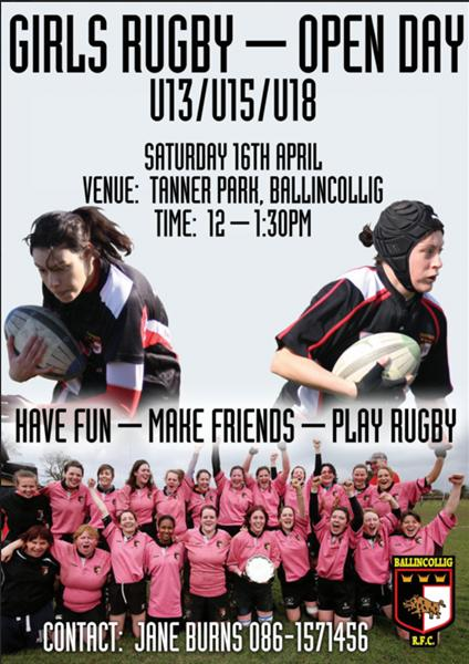 Girls Rugby Poster 2016