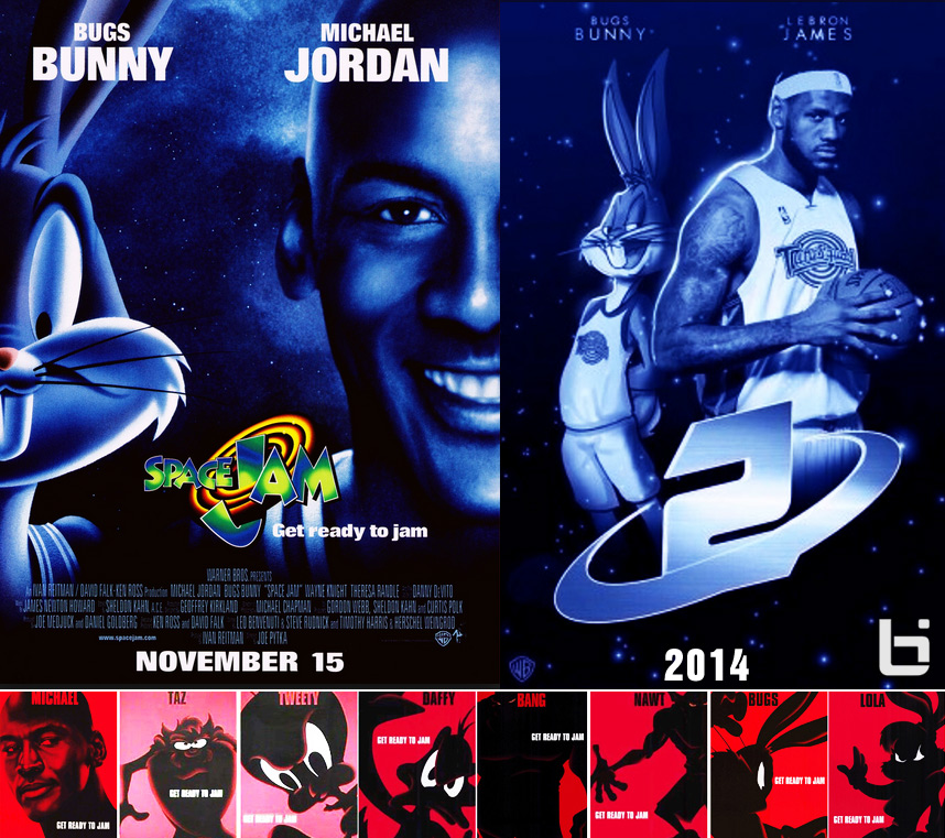 Lebron James Animated Wallpaper The History Of Space Jam Space Jam 2 Timeline