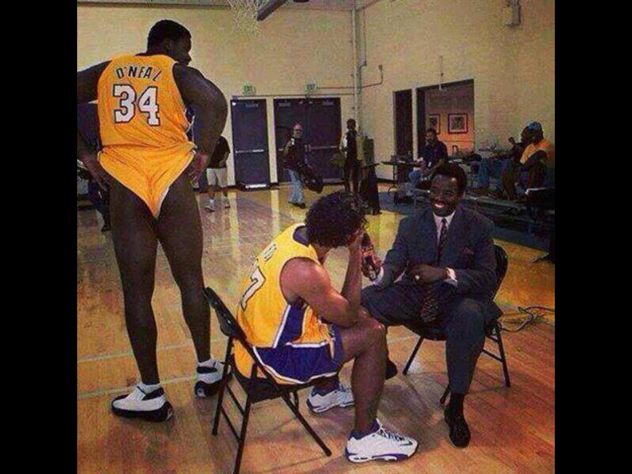 Kyrie Irving Wallpaper 2013 Hd Phil Jackson Shaquille O Neal Once Showed Up To Lakers