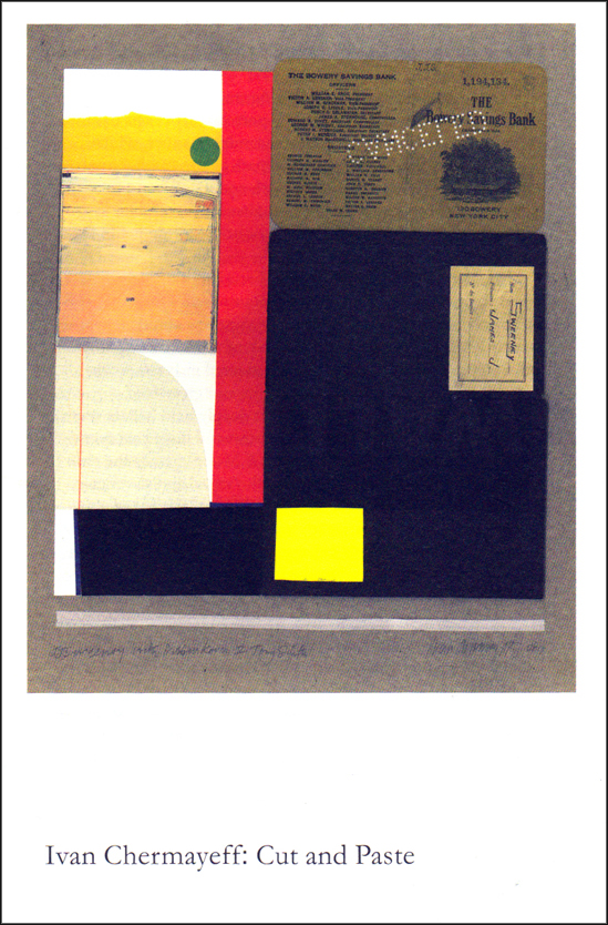 Holiday exhibitioning pt 1—Ivan Chermayeff: Cut and Paste (1/5)