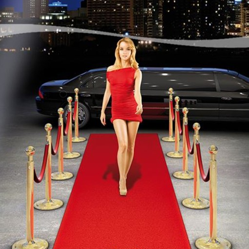 Teppich De Roter Teppich Red Carpet, Partydekoration Mottoparty