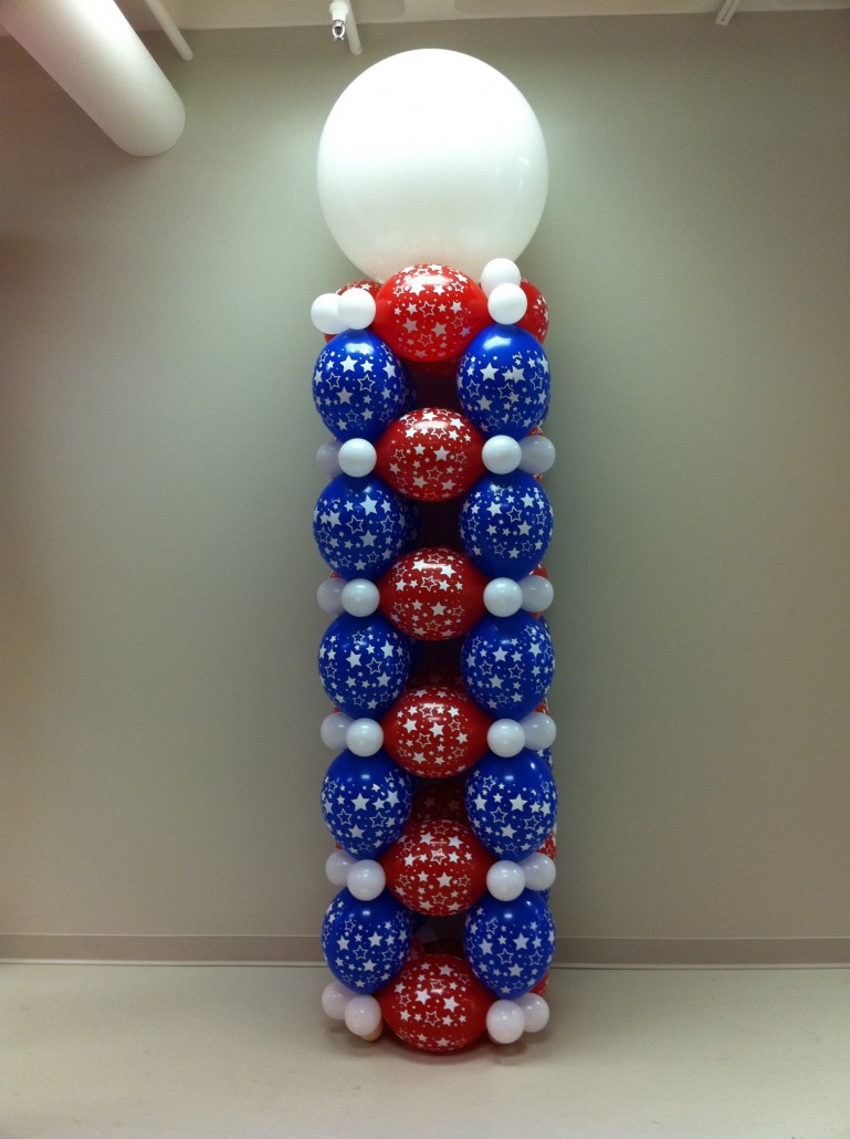 Decoration Theme Casino Balloon Columns - Balloon City