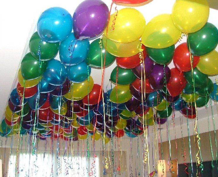 Helium Floating Balloons Without Helium