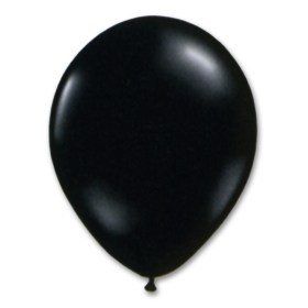 Black Royal Blue Latex Party Balloon 12 inch from Balloon Shop NYC
