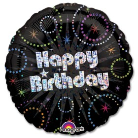 A Time To Party Birthday Balloon from Balloon Shop NYC
