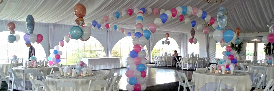 Baby Shower at a Country Club